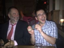 with Jim Scrivener post ELTons