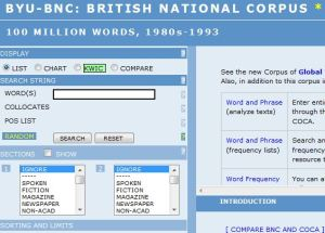 BNC Screenshot