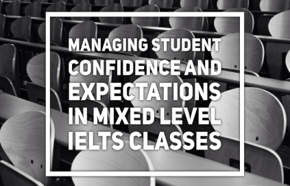 Clare Walsh and Lindsay Warwick Session - Confidence mixed IELTS classes