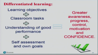 Clare Walsh - Differentiated learning