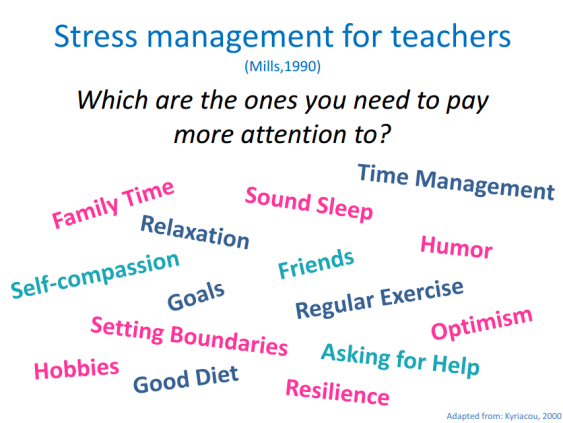 Stress Management For Teachers (Mercer)