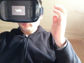 Phil's new goji VR headset