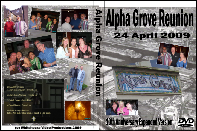 Alpha Grove Reunion - 10th Anniversary Version cover
