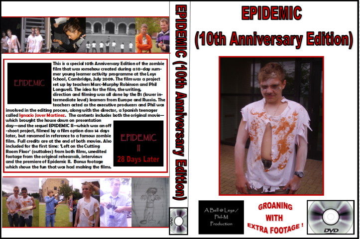 Epidemic (10th Anniversary Edition) DVD cover