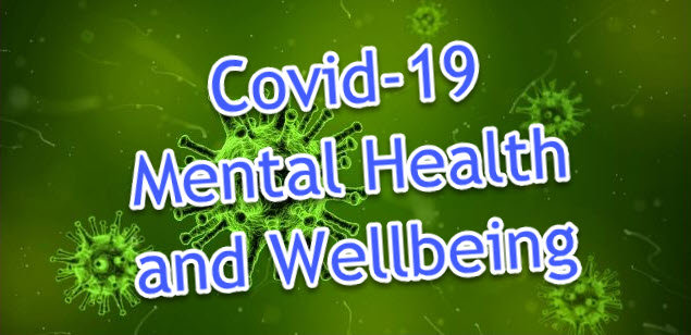 Covid-19 Mental Health and Wellbeing (Blog Post Banner)
