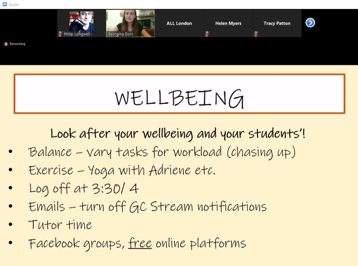 Wellbeing (Georgina Dorr slide)